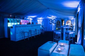 Marquee for Birthday and Bar in St Albans