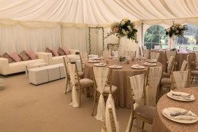 Royston Marquees Country Themed Wedding Marquee