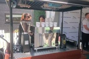 Coffee Bike London - Jaguar Car Launch