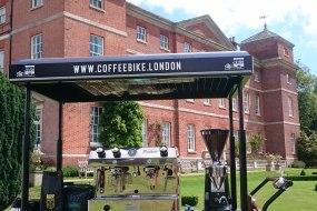 Coffee Bike London attending a Norfolk Wedding
