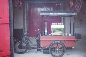 Coffee Bike London Barn Party