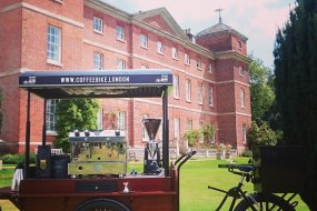 Coffee Bike London at a Norfolk Wedding
