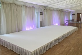 Staging Hire White Carpet