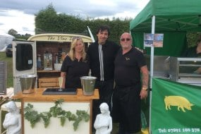 Our mobile Prosecco van