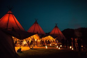 Giant Tipi Party