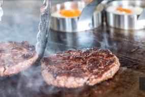 Taylor's farm beef burgers