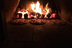 Skyrocket wood-fired pizzas