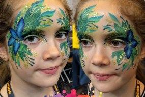Glittercreep Face and Body Art