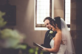 The Ceremony from our half day wedding package £545