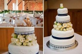 Delbury hall ceremony room and cake
