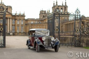 "1935 ""Churchill"" Rolls-Royce at Blenheim Palace"