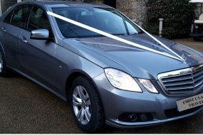 Mercedes E250 at Le Manoir Aux Qu'at saisons Wedding