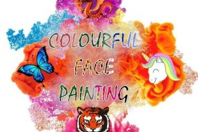 Colourful Face Painting