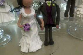 personalised keepsake wedding cake bride and groom toppers