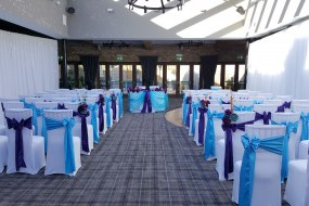 Lythe Hill hotel chair cover hire