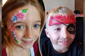 Shining Star Face Painting