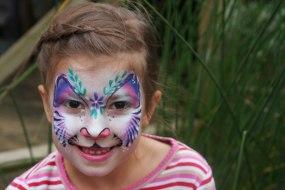 Donata's Face Painting - Purple Tiger www.donatasfacepainting.co.uk