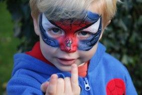 Donata's Face Painting - Spiderman www.donatasfacepainting.co.uk