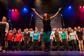 Choiroke choir event at The Hawth, Crawley