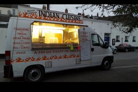 Indian and Chinese mobile catering van
