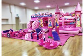 Princess themed Bouncy Castle & Soft Play Package