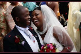 Nigerian Bride & Groom