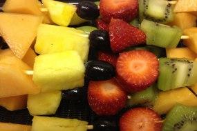 Fresh Fruit Skewers