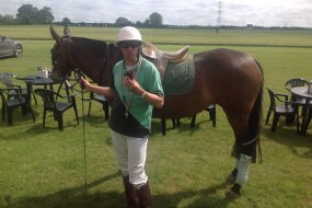 Chocolate break at Sussex Polo