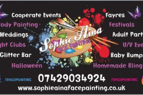 Sophie Aina Face Painting