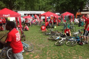 London Leukaemia Lymphoma Charity Bikeathon