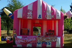 Inflatable Popcorn/Candyfloss unit