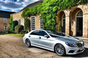 Aura Wedding Cars Mercedes Benz S Class at Hemswell Cliff in Lincolnshire