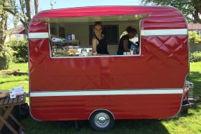 Little Red Coffee Van