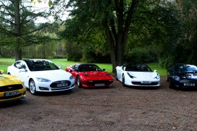 Our stable of cars