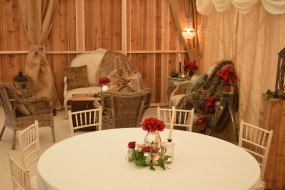 New for 2018 - Barn marquee interior