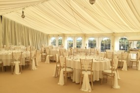 Pretty pleated linings & 20 Best Marquee and Tent Hire Companies in North Yorkshire | Add to ...