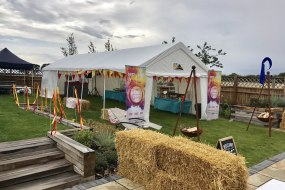 Festival Theme Decorated Marquee