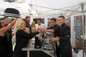 Temporary bar hire & mixologists