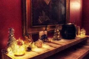 Hot Chocolate Bar at a Christmas party