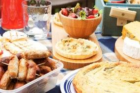 Picnic - Prawn tart