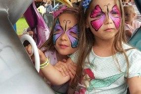 Katie's Festival Faces