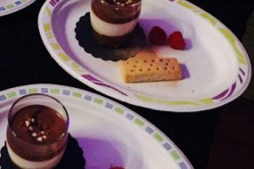 we can offer a full range of starters, desserts and additional services