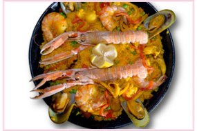 Paella dishes Food Lovers Delight