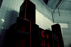 The CrimsonCraft Sound System can run stereo or as a 'wall of sound.'
