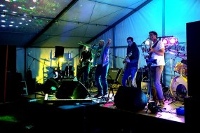 We specialise in live bands!