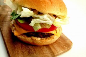 """Our """"Beef"""" Burger"""