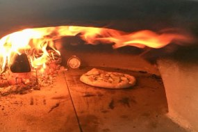 Pizzas in 90 Seconds @ 400 degrees  !