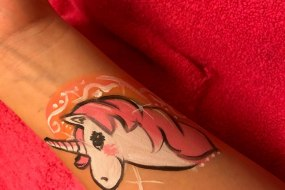 unicorn arm design but can also be used on the face