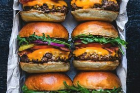 Huge Selection of Gourmet Burgers