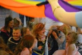 Parachute fun!